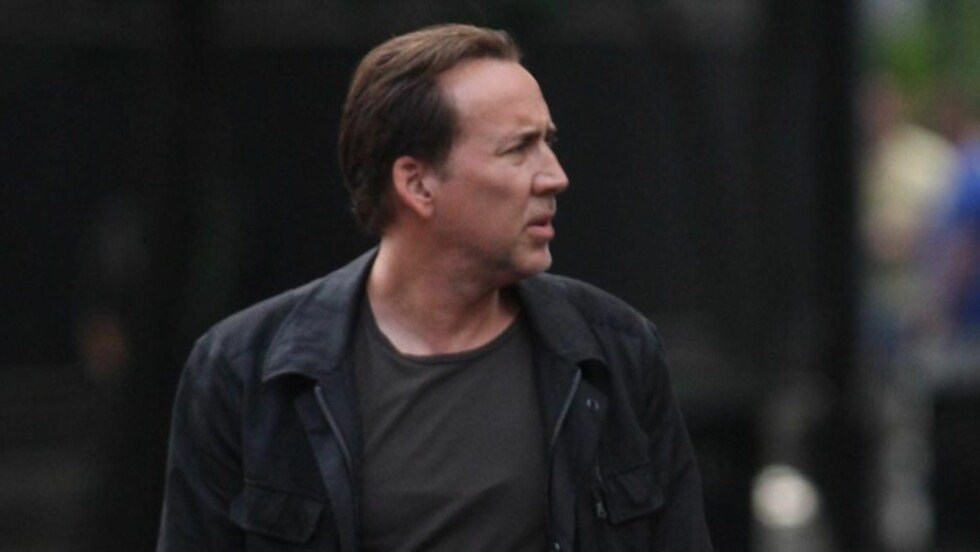 <strong>FORVIRRET FILMSTJERNE:</strong> Nicolas Cage befinner seg om dagen i New Orleans for å spille inn film, og fikk derfor trøbbel med å huske hvor han hadde leid husly under oppholdet. Her fotografert under innspillingen av sin nye film «Medallion» i New Orleans Foto: All Over Press