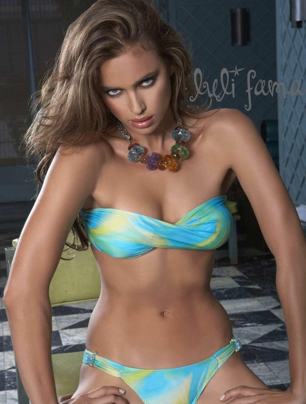 VANT PRIS: Irina ble i 2010 kåret til «beste internasjonale modell» av det spanske bladet Glamour. Foto: All Over Press