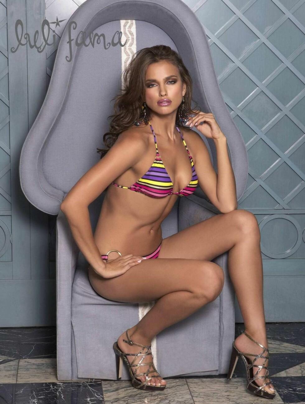 HOPPET AV STUDIENE: Ifølge Irinas Wikipedia-side begynte hun å studere markedsføring i Russland før hun ble modell, men hoppet av studiene fordi hun kjedet seg. Foto: All Over Press