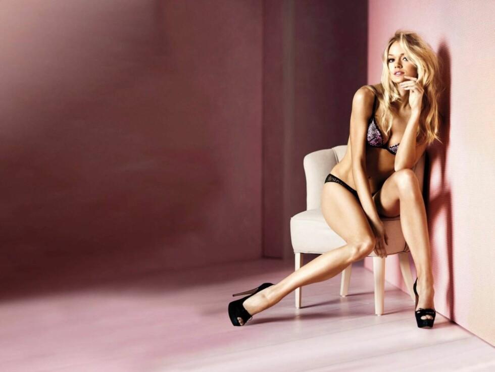 EROBRER VERDEN: Som en av de mest populære modellene til Victoria's Secret reiser Lindsay Ellingson verden rundt for å promotere sin arbeidsgiver. Foto: Stella Pictures