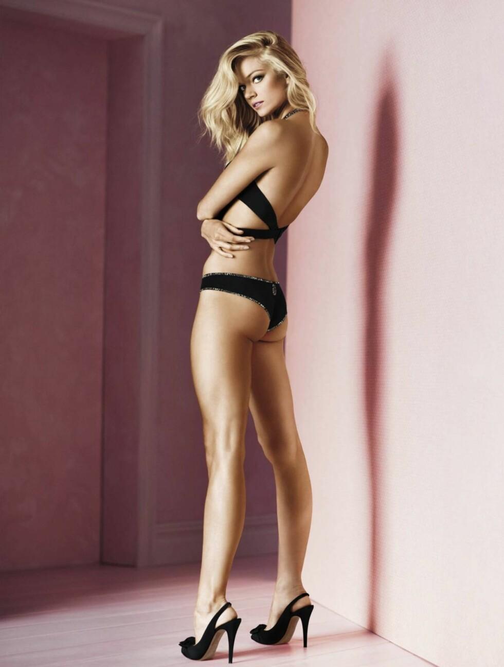 NOE FOR NORSKE KVINNER?: Detter er blant undertøysmoten Victoria's Secret håper skal slå an denne våren. Foto: Stella Pictures