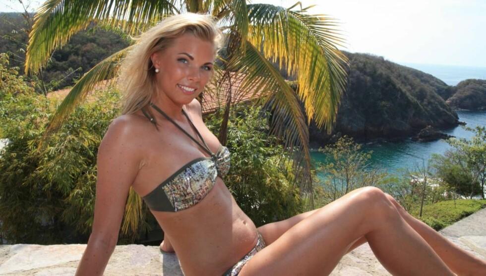 <strong>- SKJEVT BILDE:</strong> Maren Kallhovd mener begrensningene i hva deltakerne kunne snakke om i «Paradise Hotel», får henne til å fremstå som langt mer sex-fiksert enn hun i virkelligheten er. Foto: Sølve Hindhamar, Seher.no