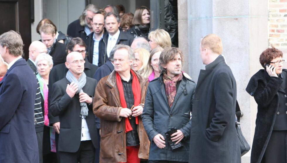 <strong>STAKK SEG UT:</strong> Per Christian Ellefsen skilte seg ut fra mengden i bisettelsen. Foto: Per Ervland/Seher.no