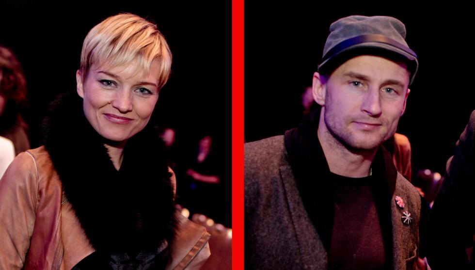 <strong>FANT SAMMEN:</strong> Ulrikke Døvigen og Daniel Franck skal ha vært kjærester i en drøy måned. Bildene er tatt under Oslo Fashion Week i februar. Foto: SCANPIX