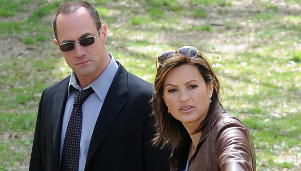 <strong>LAW & ORDER:</strong> Mariska Hargitay spiller Olivia i NBC-serien «Law & Order: SVU».  Foto: Stella Pictures