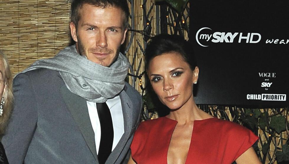 <strong>I SJOKK:</strong> David og Victoria Beckham skal være i sjokk over å få en datter, en nyhet de ikke kunne vært mer glad for å få. Foto: Stella Pictures
