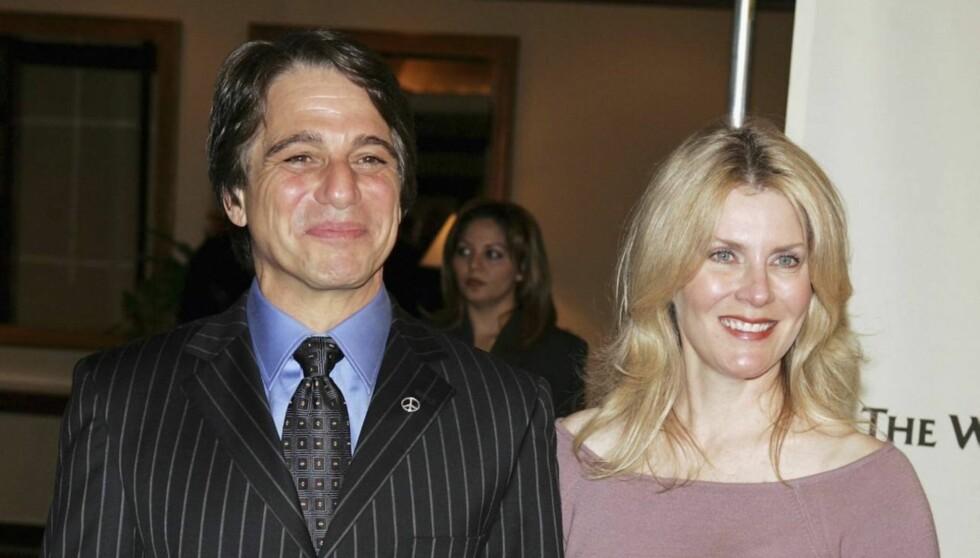<strong>GÅR HVER TIL SITT:</strong> Dette bildet av Tony Danza og kona Tracy Robinson er tatt i forbindelse med en veldedighetstilstelning i Los Angeles i 2005. Foto: All Over Press