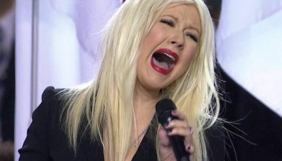 <strong>NÆR NERVESAMMENBRUDD:</strong> - Desverre så er det slik at hvis hun skal bli frisk, må hun selv erkjenne at hun har et problem, skriver Perez Hilton, som er bekymret for sangerinnens helse. Foto: All Over Press