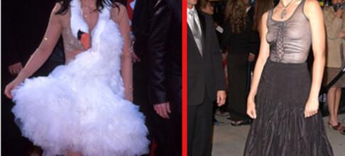 Her er Oscar-utdelingens største kjoletabber!