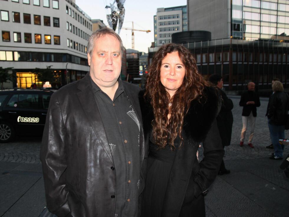 Tor Milde og kjæresten Irja Anthi. Foto: Thomas Horni / Seher.no