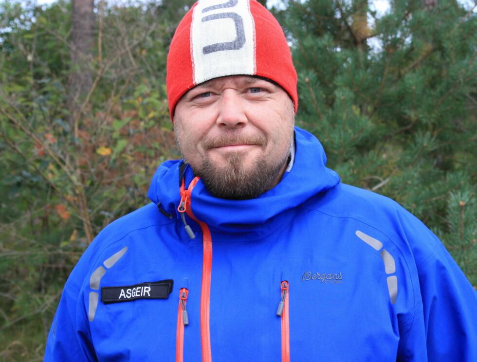 KLAR TIL KAMP: TV-profilen Asgeir Borgemoen er en av ti kjendiser som skal kjempe om å ta seg først til Nordkapp. Foto: Bjørn Ekker/Seher.no