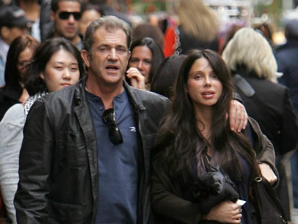 <strong>ANKLAGES FOR MISHANDLING:</strong> Mel Gibsons russiske eks-kjæreste Oksana Grigorieva hevder at filmstjernen slo ut fortennene hennes i januar. Foto: Stella Pictures