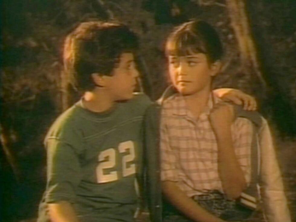 BARNESTJERNE: Det var mange unge gutter som var avstandsforelsket i Danica McKellar da hun spilte sammen med Fred Savage i «Mine beste år» fra 1988 til 1993. Nå er barnestjernen blitt 35 år og er gravid. Foto: All Over Press