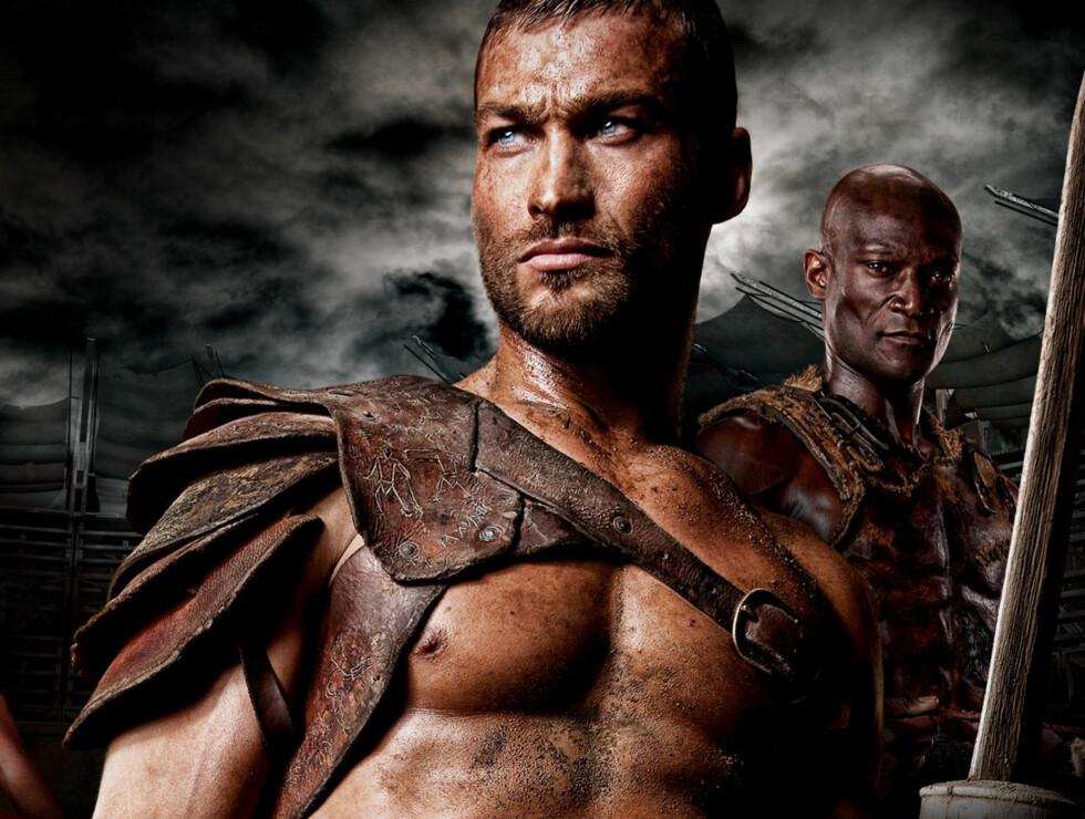 KREFTKAMP: Andy Whitfield spiller gladiatoren «Spartacus» i TV-suksessen «Spartacus: Blood and Sand». Nå må han kjempe mot kreften på hjemmebane.