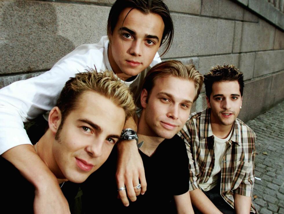 ORIGINALBESETNINGEN: Kvartetten Mark Read, Ben Adams, Christian Ingebrigtsen og Paul Marazzi ble en trio i 2002. Foto: SCANPIX