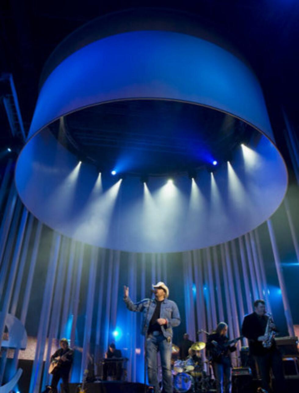 FESTFINT: Oslo Spektrum viste seg fra sin beste side under Nobelkonserten. Foto: Per Ervland/Seher.no