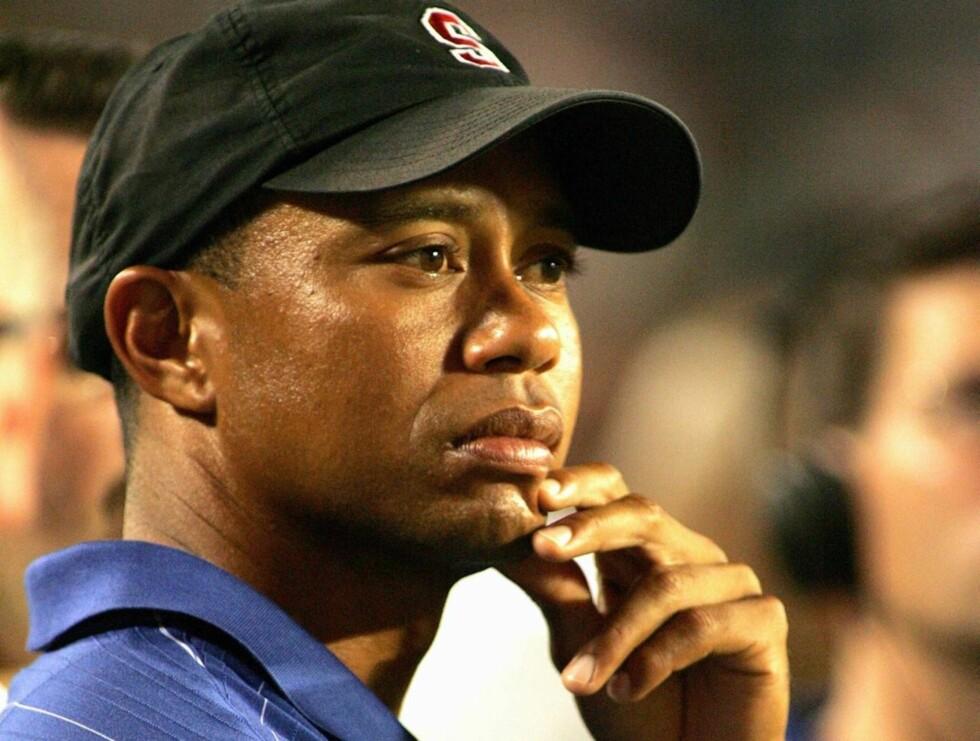 SITUASJONEN FORVERRES: Det er hele ti kvinner som hevder å ha vært Tiger Woods' elskerinne. Foto: Stella Pictures