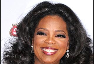 Gråtende slutt for Oprah