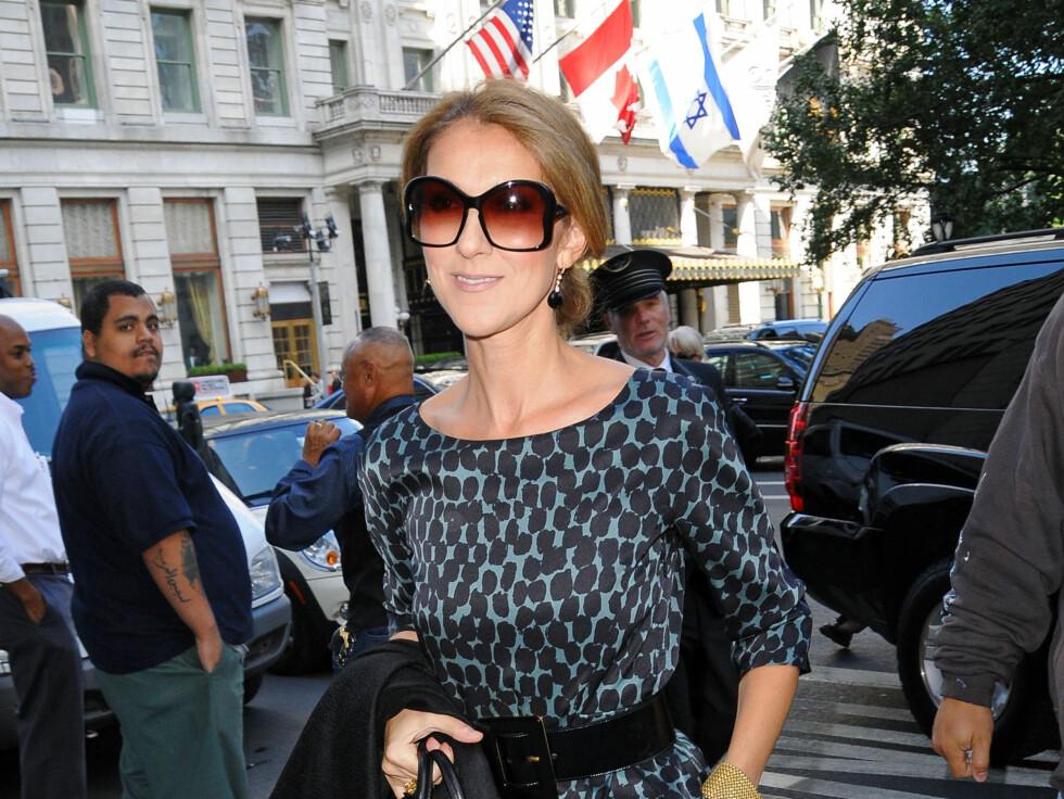 TRIST NYHET: Celine Dion spontanaborterte bare ti dager etter at nyheten om graviditeten ble kjent. Foto: All Over Press