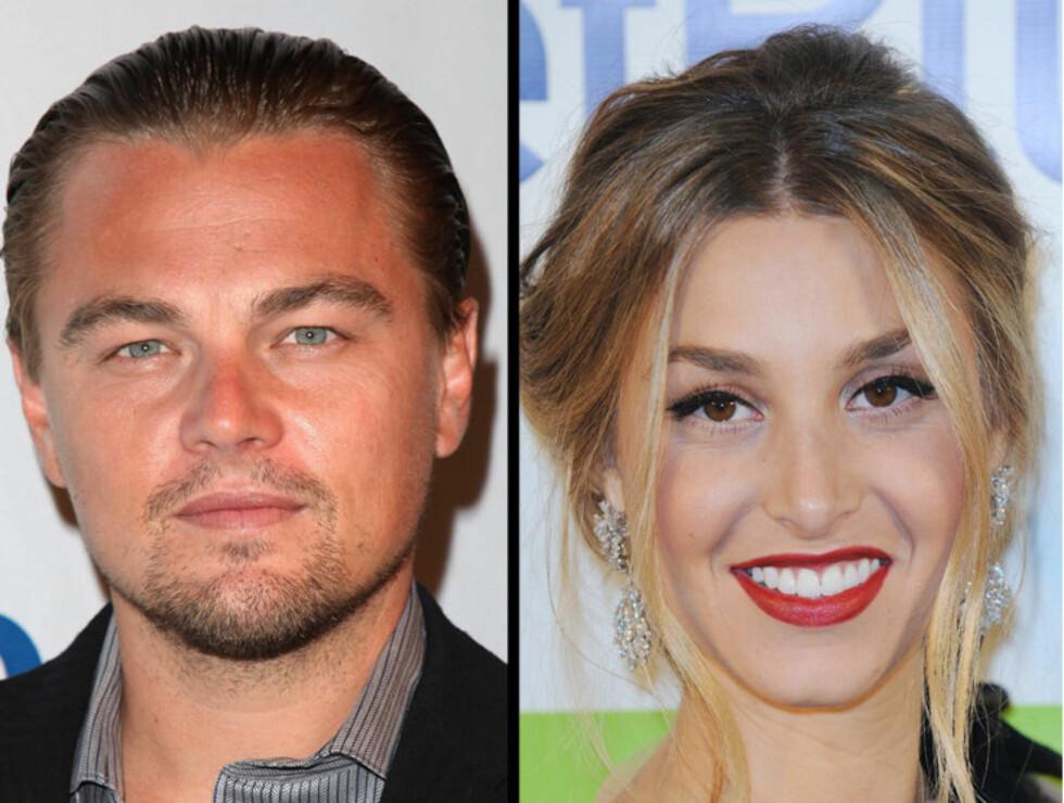 KJÆRESTER? Flere kilder hevder nå at det er en romanse på gang mellom MTV-stjernen Whitney Port og skuespiller Leonardo DiCaprio.