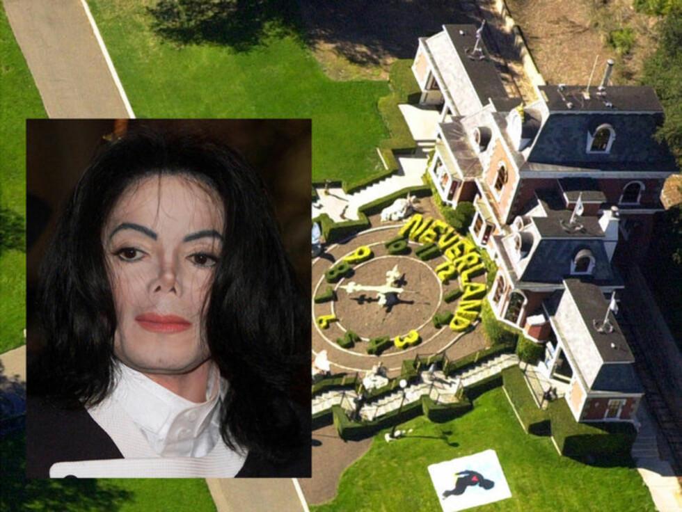 DRØMTE OM NEVERLAND: Ifølge The Mirror, skal Jackson ha drømt om at Neverland skulle bli hans siste hvilested.