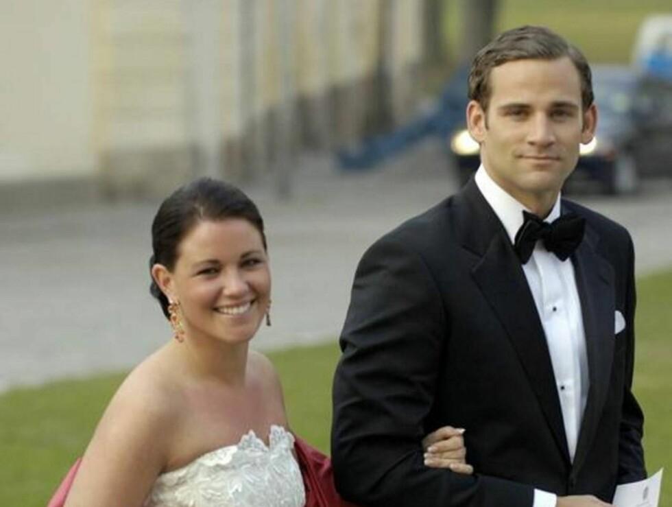KONGELIGE KJÆRESTER: Emma Pernald kom sammen med prinsesse Madeleines kjæreste Jonas Bergström til kong Carl Gustafs 60-årsdag i 2006. Foto: Stella