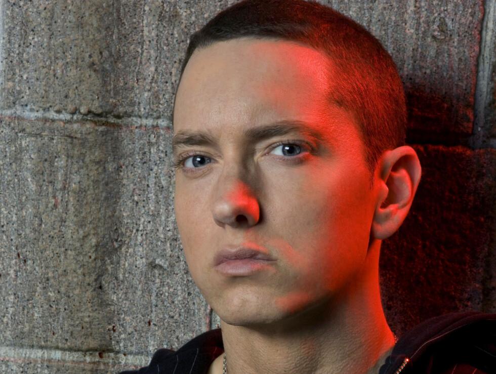 PÅ REHAB: - Jeg var ikke klar mentalt. Jeg var ikke klar for å gi opp narkotika. Jeg trodde egentlig ikke at jeg hadde et problem. Jeg gikk inn, og kom ut. Jeg fikk tilbakefall, og de neste tre årene slet jeg med det, sier Eminem. Foto: AP