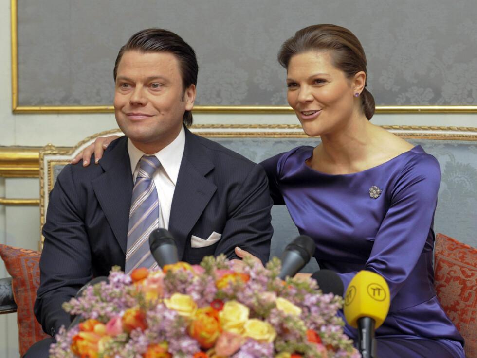 DATOEN KLAR: Det blir kongelig bryllup i Stockholm 19. juni 2010. Foto: AP