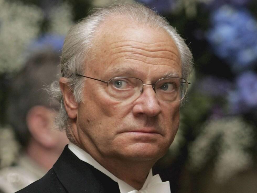 ABDISERER HAN?: En av tre svensker vil at kongen skal abdisere når han blir 65 år gammel. Der er kun to år til. Foto: All Over Press