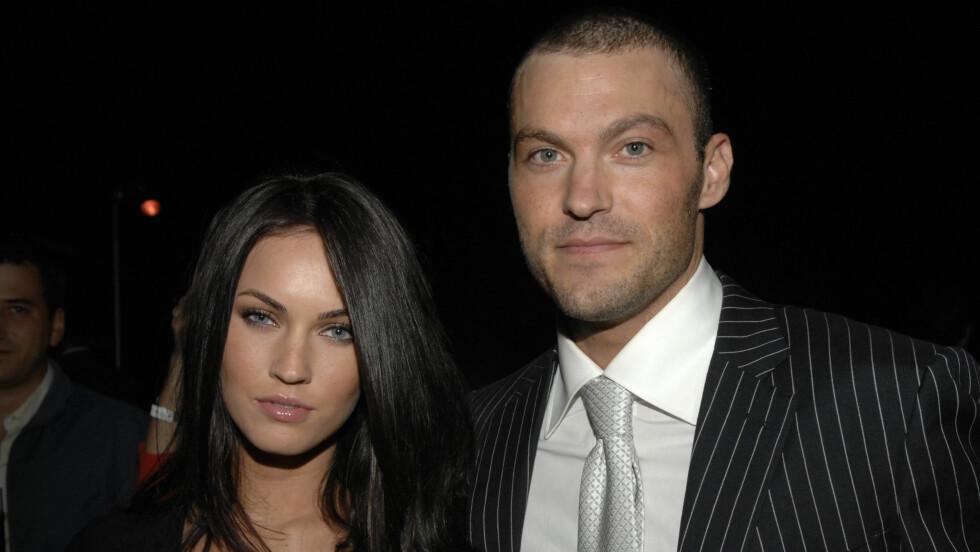 - BRUTT FORLOVELSEN: Megan Fox og Brian Austin Green skal ha gått hver til sitt, men forblir gode venner. Foto: Scanpix