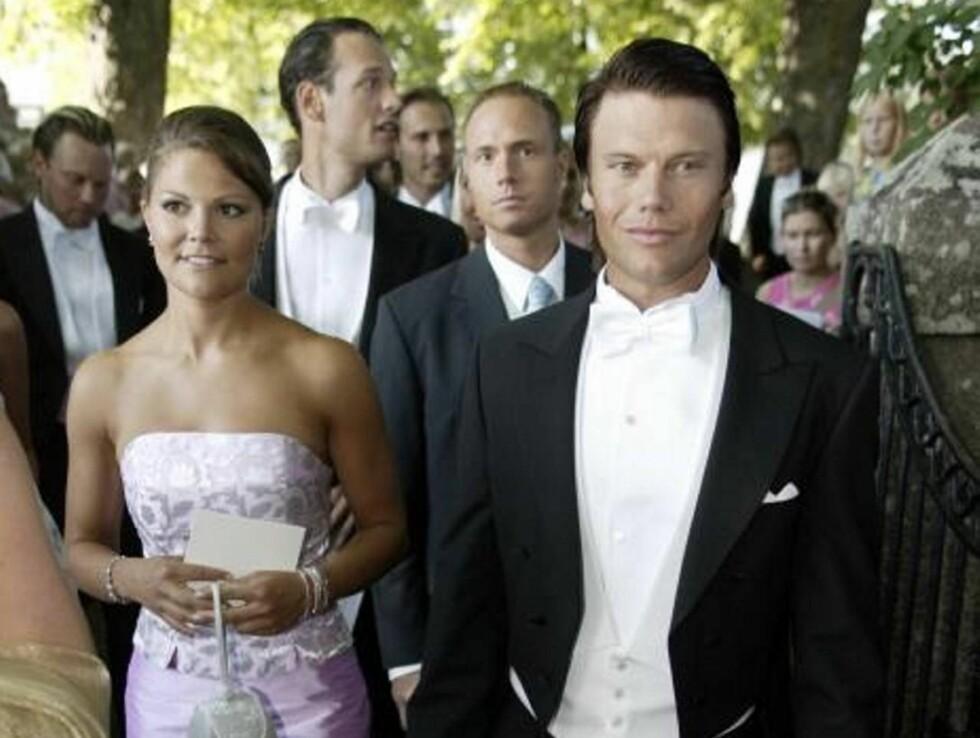 STORE PLANER: Kronprinsesse Victoria og Daniel Westling får et eventyr-bryllup! Foto: Stella Pictures