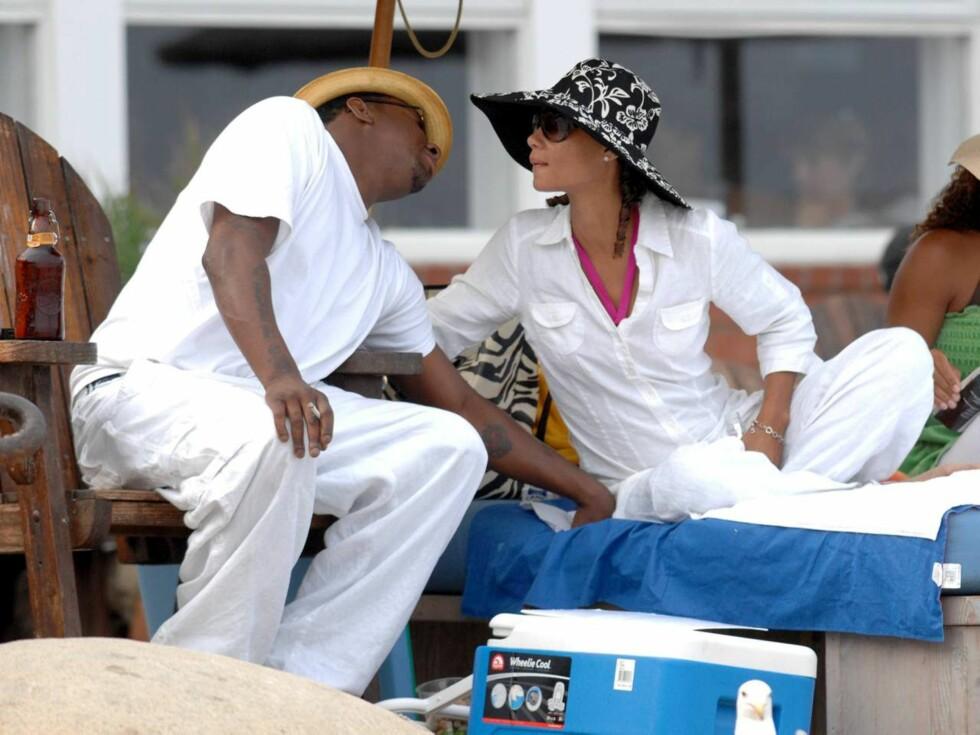 BLIR PAPPA IGJEN: For femte gang skal Bobby Brown bli pappa. Denne gangen med Alicia Etheridge. Foto: All Over Press