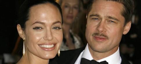 Hvor var Brad og Angelina?