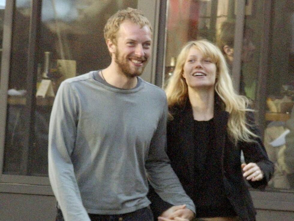 ELSKER GWYNETH: - Vi skal ikke skilles, sier Coldplay-vokalist Chris Martin etter at ryktene har løpt rundt ham og kona Gwyneth Paltrow den siste tiden. Foto: All Over Press