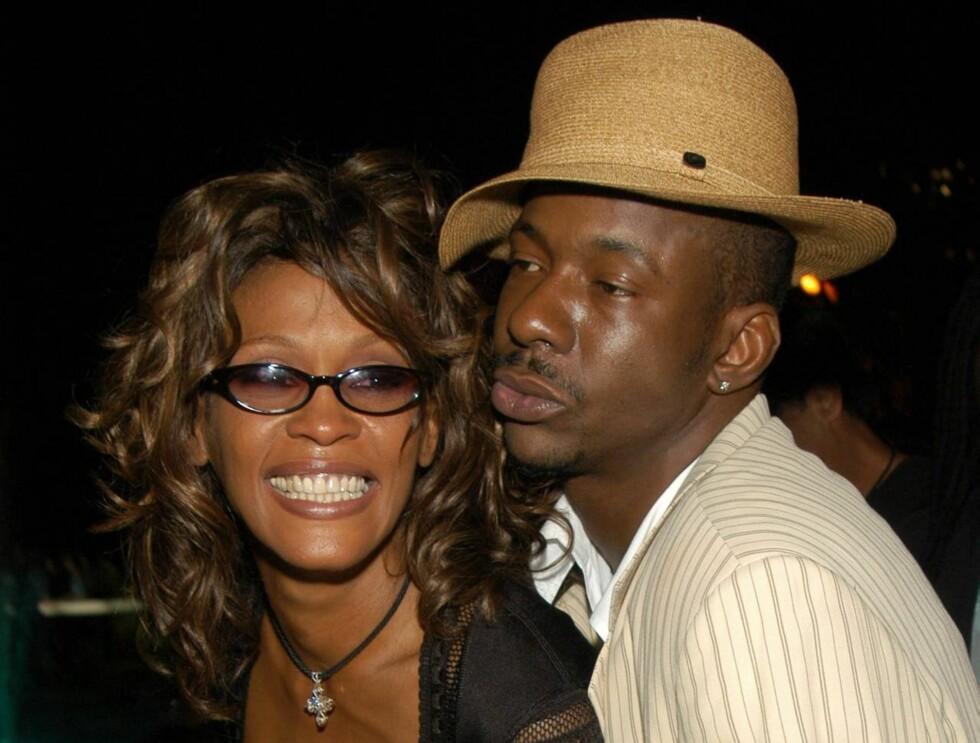 IKKE SAMMEN: Whitney Houston og eksmannen Bobby Brown skal ikke ha funnet tilbake til hverandre. Foto: All Over Press
