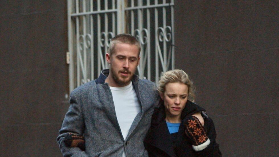 SLUTT IGJEN: Det er fire måneder siden Ryan Gosling og Rachel McAdams fant tilbake til hverandre. Nå skal kjærligheten ha tatt slutt igjen. Foto: All Over Press