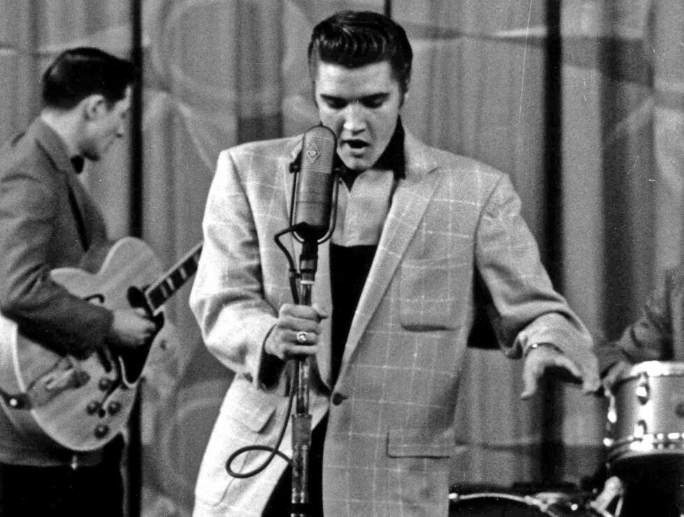 INNTEKTSVINNER: Elvis Presley tjener mest av de døde kjendisene. Foto: Stella Pictures