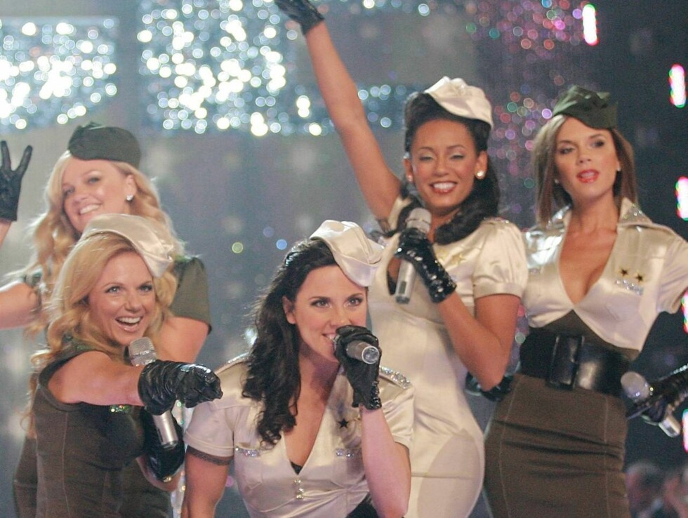 FOREVER FRIENDS: Det er usikkert hvem som stiller fra Spice Girls-gjengen. Det er iallefall sikkert at Posh Spice ikke kommer. Foto: Stella Pictures