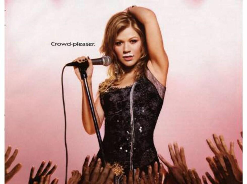 Amerikas første Idol, Kelly Clarkson. Foto: AP/Scanpix