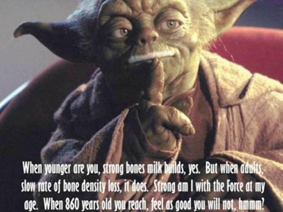 """Star Wars""-gamlingen Yoda."