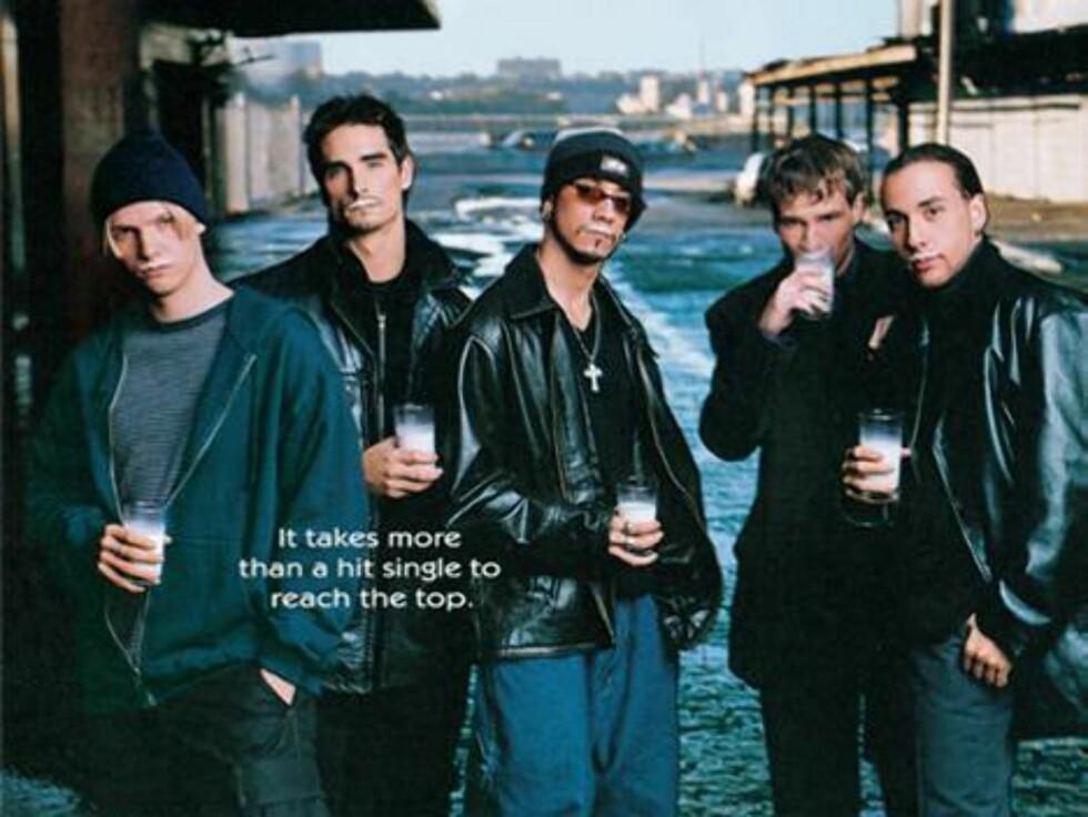"""Boybandet """"The Backstreet Boys""""."""