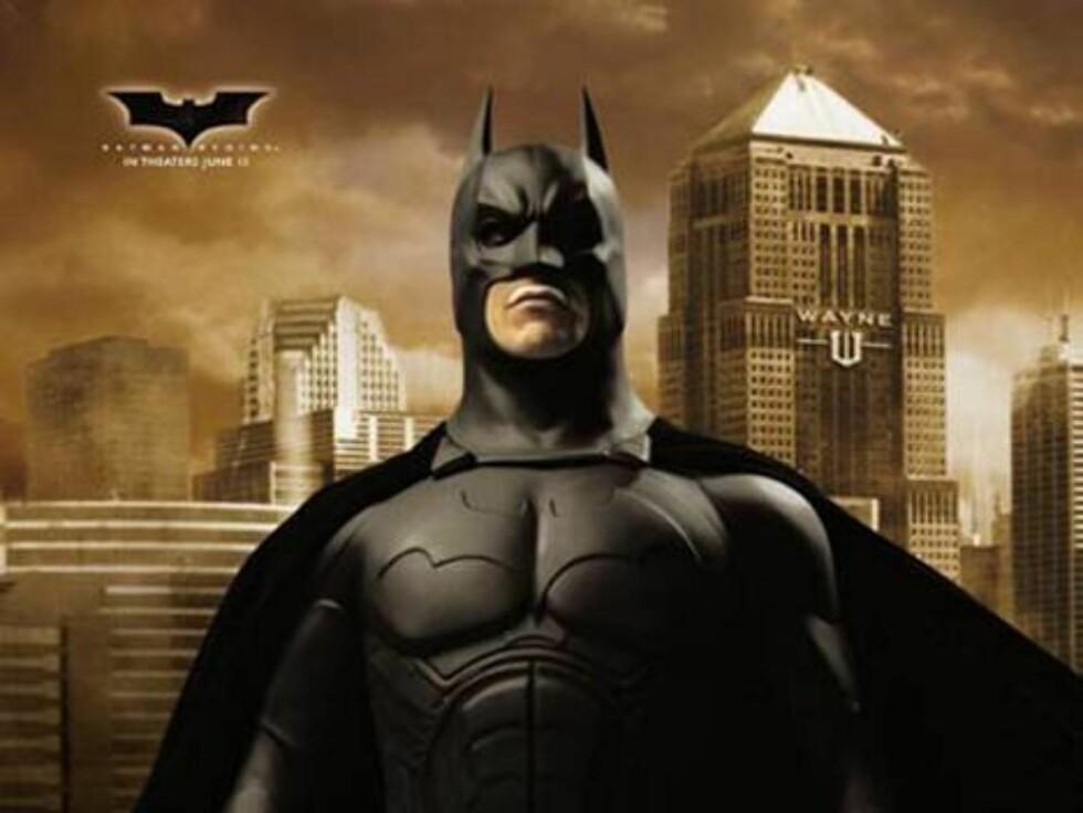 Alles helt, Batman.
