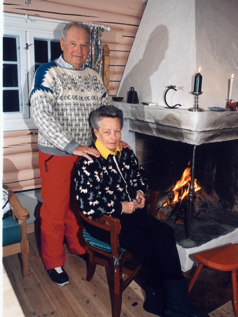 STØTTESPILLERE; Prinsesse Ragnhild og Erling Lorentzen har brukt både tid og penger på å få reist en drømmehytte for kreftsyke barn..