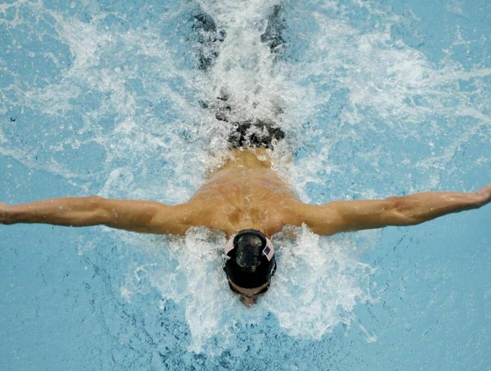 FLOTT: Tidligere i år ble Michael Phelps kåret til verdens femte mest sexy mann. Foto: AP