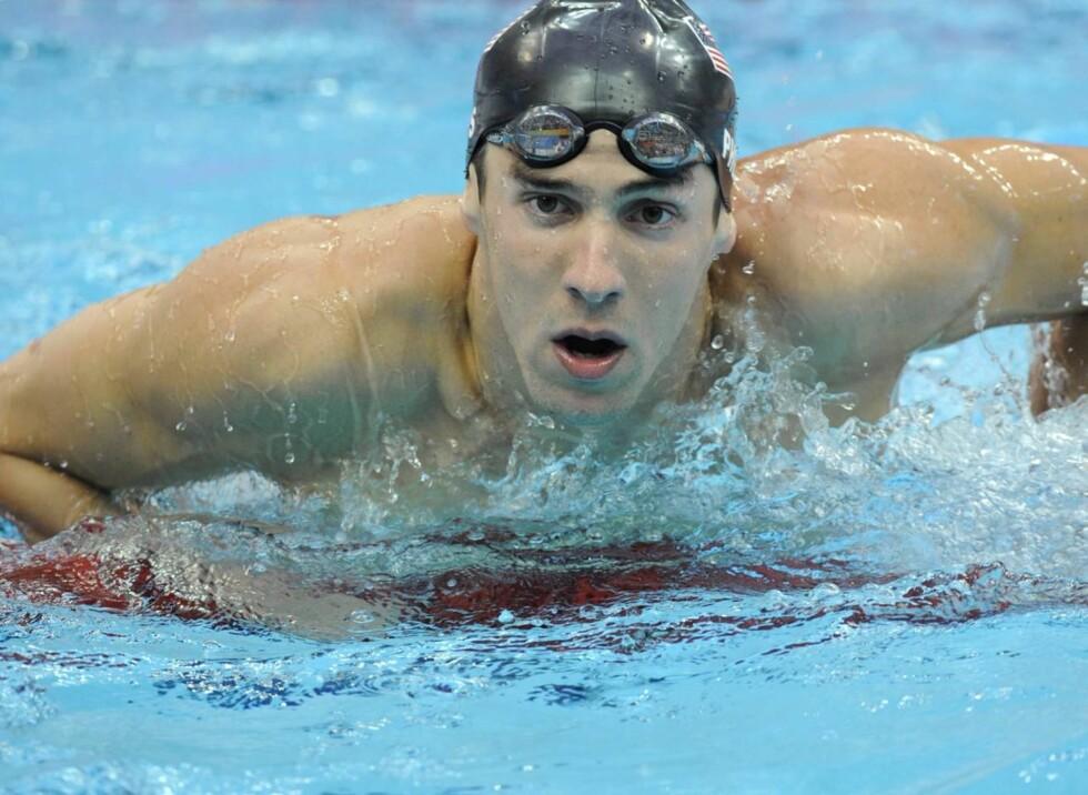 POPULÆR: Michael Phelps er enormt populære, både i hjemlandet USA og i resten av verden. Foto: SCANPIX