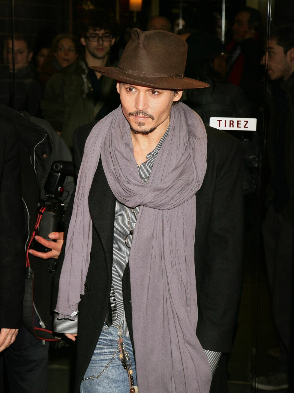 """3.PLASS: """"Pirates of the Caribbean""""-skuespiller Johnny Depp (45). Foto: Stella Pictures"""