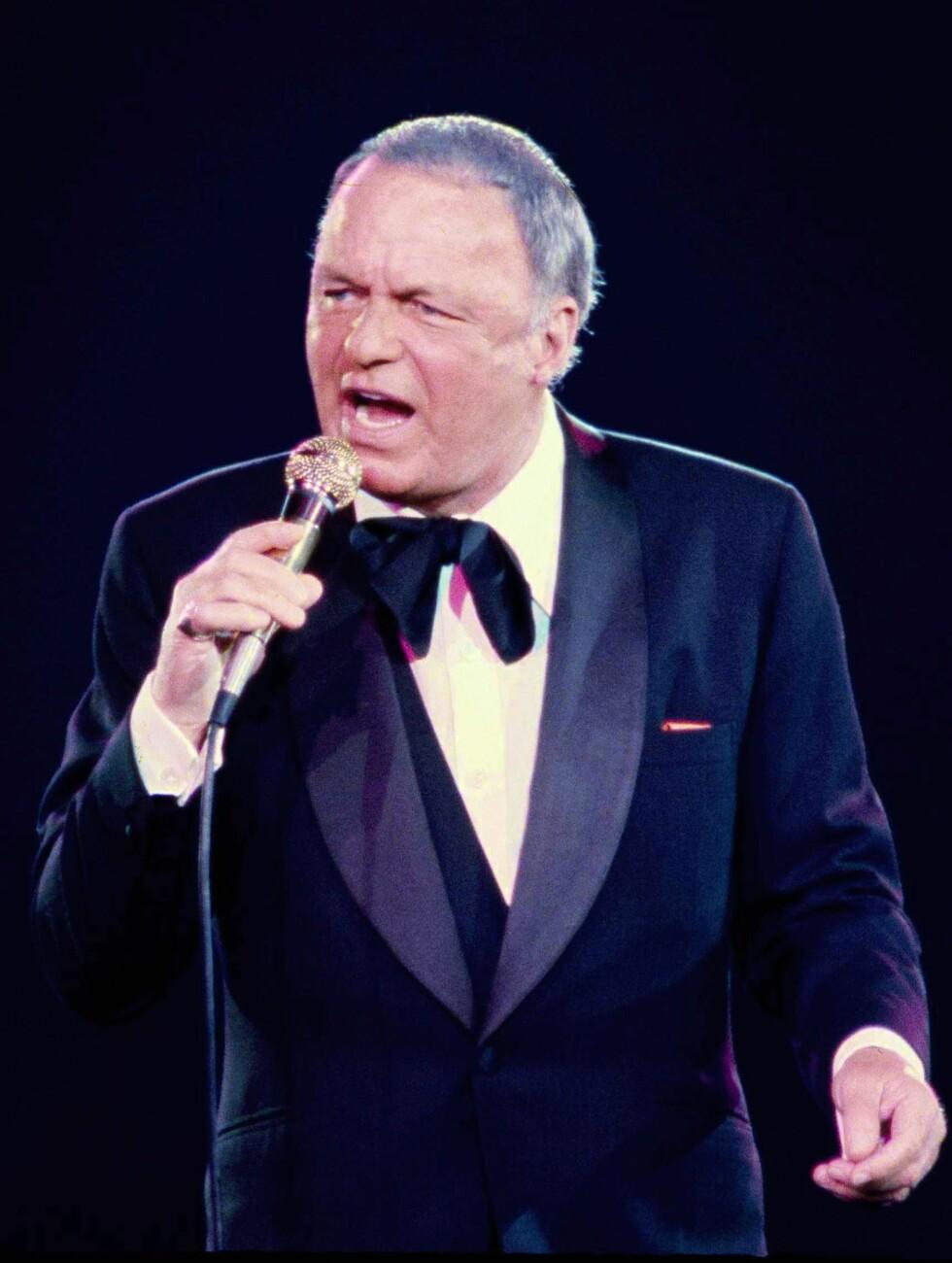 8.PLASS: Frank Sinatra. Foto: AP