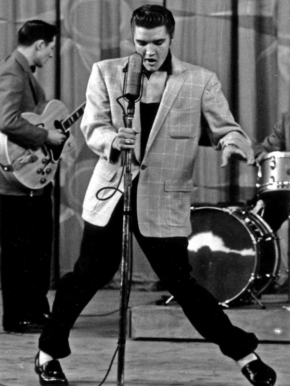 9.PLASS: Elvis Presley. Foto: Stella Pictures