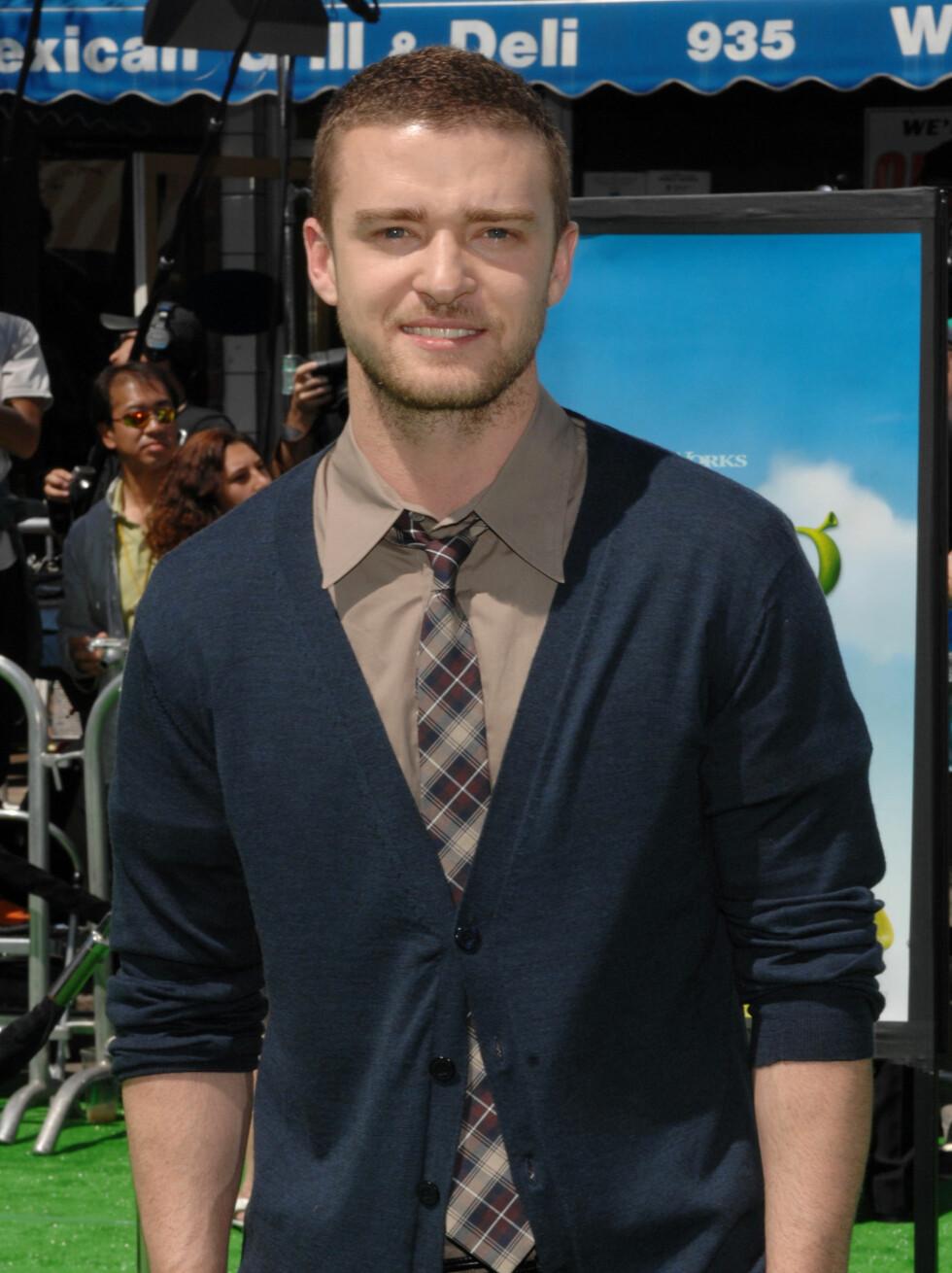 10.PLASS: Pop-prinsen Justin Timberlake (27). Foto: Stella Pictures