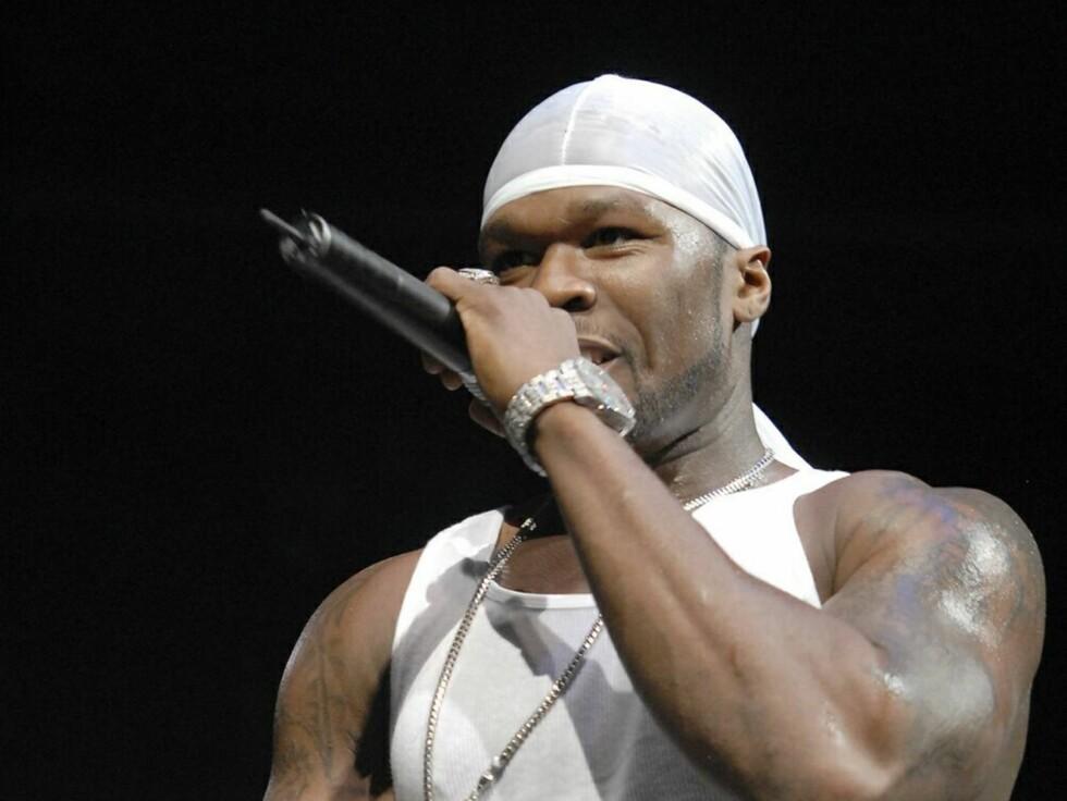 LYKKELIG GIFT? 50 Cent ryktes å ha giftet seg med artistkollega Ciara. Foto: All Over Press